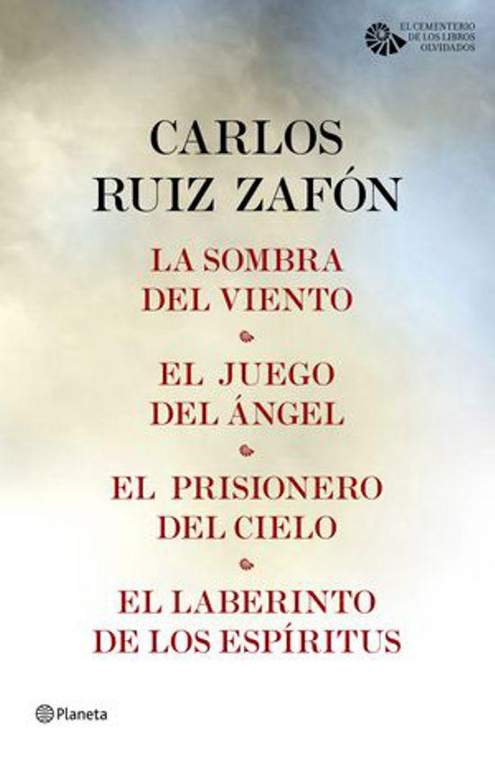 Tetralogía El Cementerio De Los Libros Olvidados Carlos Ruiz Zafon Alibrate