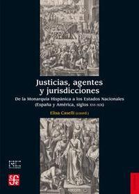 Libro JUSTICIAS, AGENTES Y JURISDICCIONES