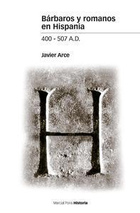 Libro BÁRBAROS Y ROMANOS EN HISPANIA