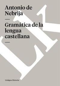Libro GRAMÁTICA DE LA LENGUA CASTELLANA