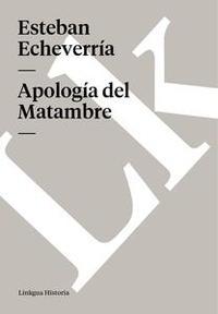 Libro APOLOGÍA DEL MATAMBRE