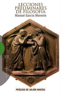 Libro LECCIONES PRELIMINARES DE FILOSOFÍA
