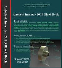 Libro AUTODESK INVENTOR 2018 BLACK BOOK