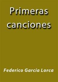 Libro PRIMERAS CANCIONES