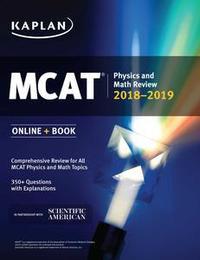 Libro MCAT PHYSICS AND MATH REVIEW 2018-2019