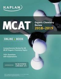 Libro MCAT ORGANIC CHEMISTRY REVIEW 2018-2019