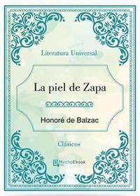 Libro LA PIEL DE ZAPA