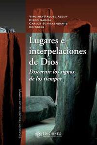 Libro LUGARES E INTERPELACIONES DE DIOS
