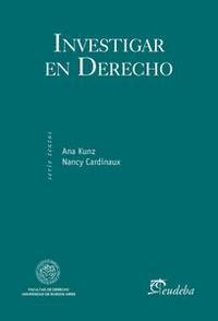 Libro INVESTIGAR EN DERECHO