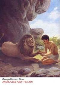 Libro ANDROCLES AND THE LION