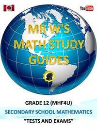 Libro GRADE 12 (MHF4U) SECONDARY SCHOOL MATHEMATICS TESTS AND EXAMS (FUNCTIONS)