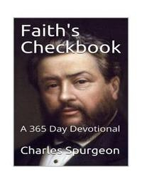 Libro FAITH'S CHECKBOOK: A 365 DAY DEVOTIONAL