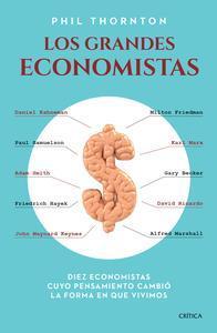 Libro LOS GRANDES ECONOMISTAS
