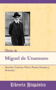 Libro OBRAS DE MIGUEL DE UNAMUNO