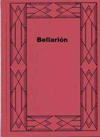 Libro BELLARIÓN