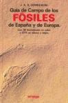 Libro GUIA DE CAMPO DE LOS FOSILES DE ESPAÑA Y EUROPA
