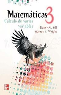 Libro CALCULO DE VARIAS VARIABLES MATEMATICA 3