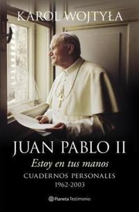 Libro ESTOY EN TUS MANOS