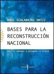 Libro BASES PARA LA RECONSTRUCCION NACIONAL