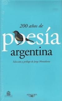 Libro 200 AÑOS DE POESIA ARGENTINA