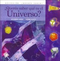 Libro QUERES SABER QUE ES EL UNIVERSO ?