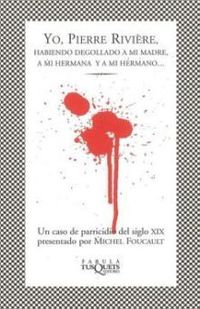 Libro YO PIERRE RIVIERE