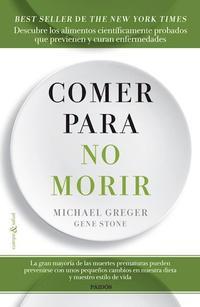 Libro COMER PARA NO MORIR