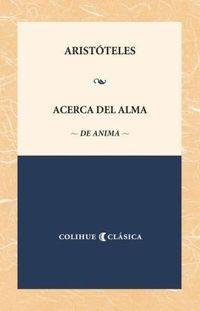 Libro ACERCA DEL ALMA