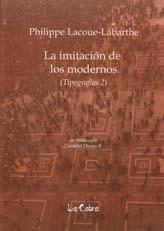 Libro LA IMITACION DE LOS MODERNOS