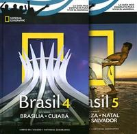 Libro 4/5. BRASIL  BRASILIA Y COIABA + FORTALEZA RECIFE Y NATAL