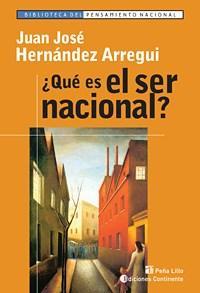 Libro QUE ES EL SER NACIONAL ?