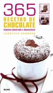 Libro 365 RECETAS DE CHOCOLATE