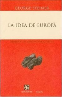 Libro LA IDEA DE EUROPA
