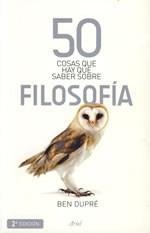 Libro 50 COSAS QUE HAY QUE SABER SOBRE FILOSOFIA