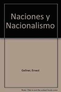 Libro NACIONES Y NACIONALISMO