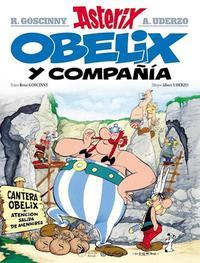 Libro 23. ASTERIX  OBELIX Y COMPAÑIA