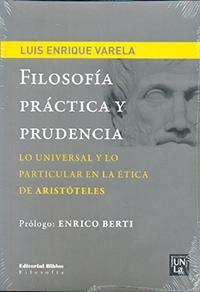 Libro FILOSOFIA PRACTICA Y PRUDENCIA