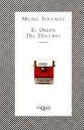 Libro EL ORDEN DEL DISCURSO