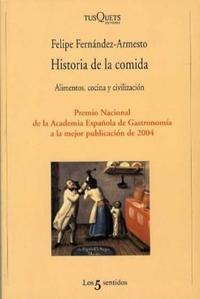 Libro HISTORIA DE LA COMIDA