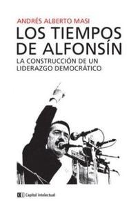 Libro LOS TIEMPOS DE ALFONSIN