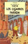 Libro LOS CIGARROS DEL FARAON  ENCUADERNANDO  LAS AVENTURAS DE TINTIN