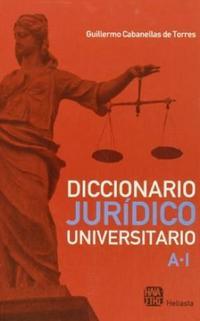 Libro 1. DICCIONARIO JURIDICO UNIVERSITARIO