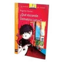 Libro QUE ESCONDE DEMETRIO LATOV ?