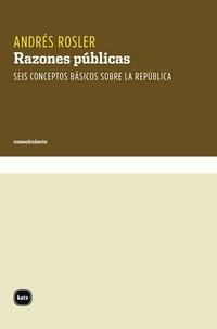Libro RAZONES PUBLICAS