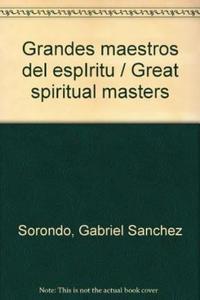 Libro GRANDES MAESTROS DEL ESPIRITU