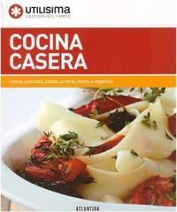 Libro COCINA CASERA  UTILISIMA