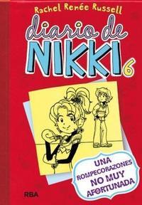 Libro 6. DIARIO DE NIKKI  UNA ROMPECORAZONES NO MUY AFORTUNADA