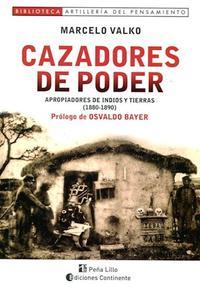 Libro CAZADORES DE PODER