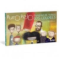 Libro PURO PELO  FAMILIAS DE TODOS LOS COLORES