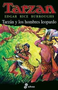 Libro TARZAN Y LOS HOMBRES LEOPARDO